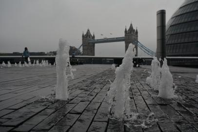 Tower Bridge Fountains