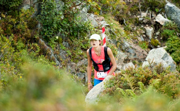 Rory Bosio leading at Tetes aux Vents