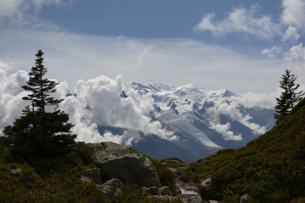 The Mont Blanc massif