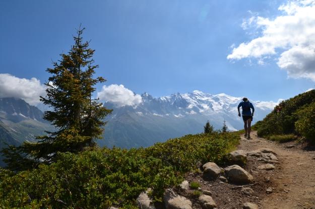 Mont Blanc trail running